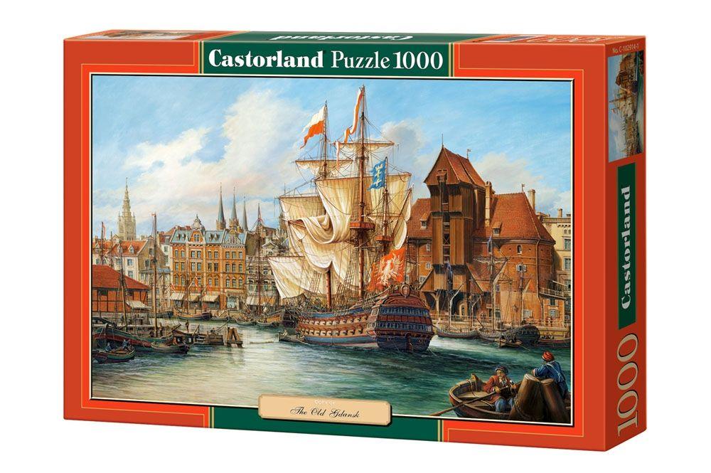"""Купить Castorland Пазл """"Старый Гданьск"""" в интернет магазине. Цены, фото, описания, характеристики, отзывы, обзоры"""