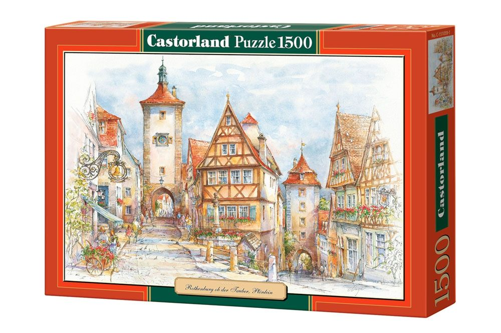 """Купить Castorland Пазл """"Ротенбург-на-Таубере"""" в интернет магазине. Цены, фото, описания, характеристики, отзывы, обзоры"""