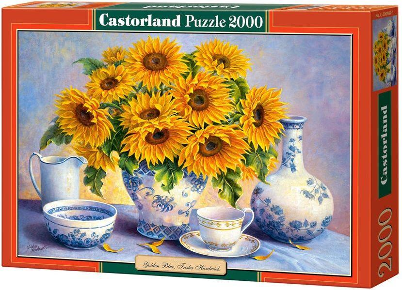 """Купить Castorland Пазл """"Подсолнухи"""" в интернет магазине. Цены, фото, описания, характеристики, отзывы, обзоры"""