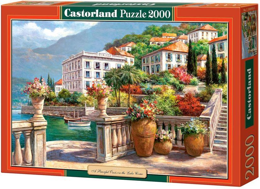 """Купить Castorland Пазл """"Тихий оазис"""" в интернет магазине. Цены, фото, описания, характеристики, отзывы, обзоры"""