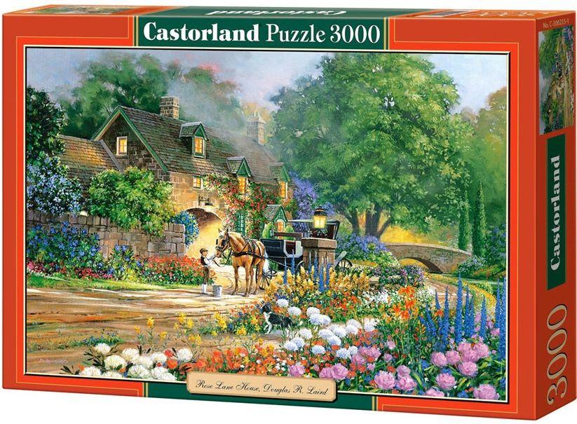 """Купить Castorland Пазл """"Дом Роуз Лейн"""" в интернет магазине. Цены, фото, описания, характеристики, отзывы, обзоры"""