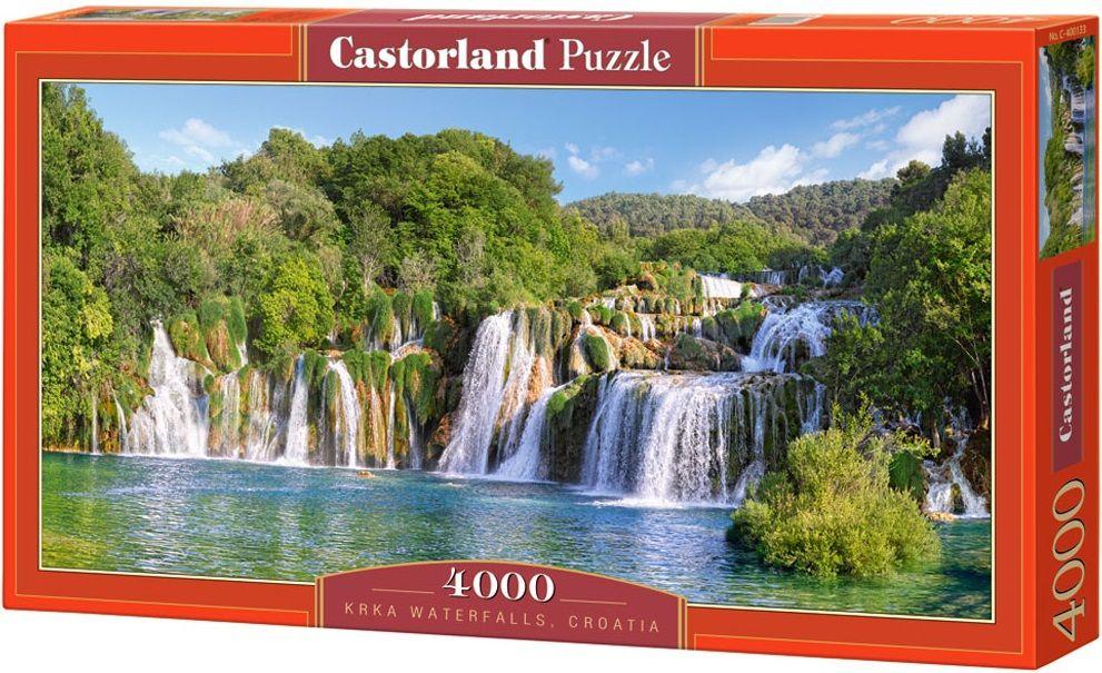 """Купить Castorland Пазл """"Водопады Крка. Хорватия"""" в интернет магазине. Цены, фото, описания, характеристики, отзывы, обзоры"""