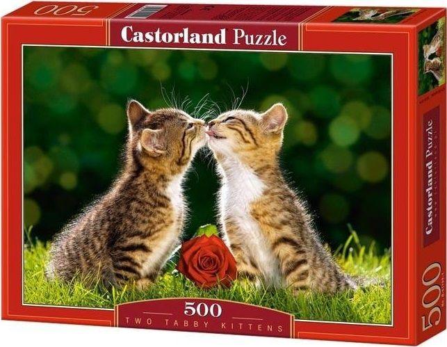 """Купить Пазл """"Два котенка"""" <span class=""""brend-last-pos"""">Castorland</span> в интернет магазине. Цены, фото, описания, характеристики, отзывы, обзоры"""