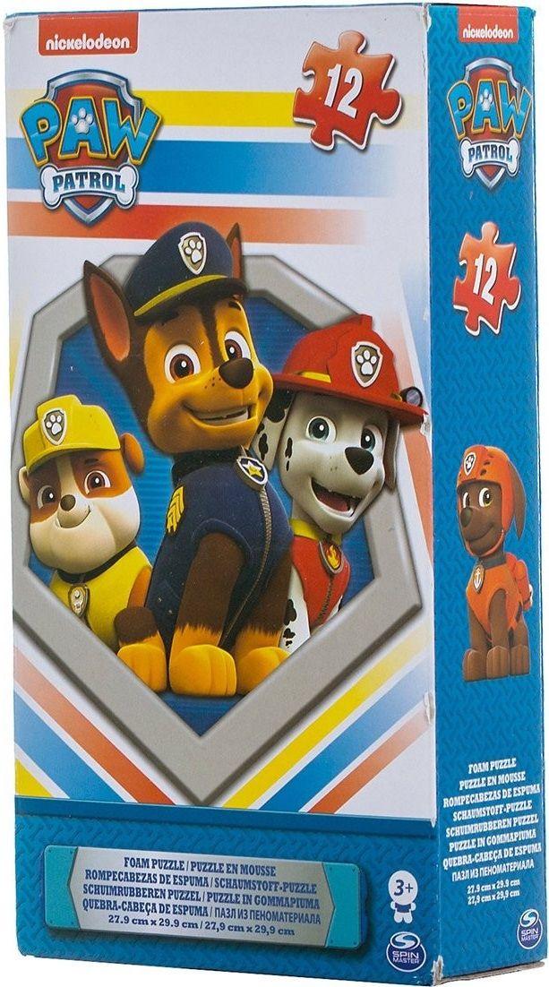 Купить Коврик-пазл Paw Patrol Щенячий патруль , 12 элементов, Головоломки, пазлы Spin Master, Детские