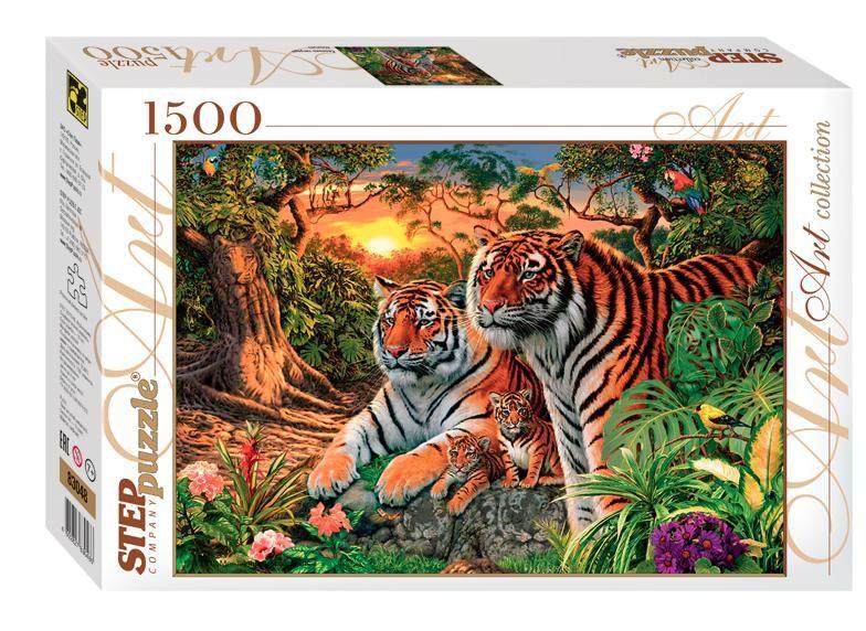 """Купить Step Puzzle Пазл """"Сколько тигров?"""" в интернет магазине. Цены, фото, описания, характеристики, отзывы, обзоры"""