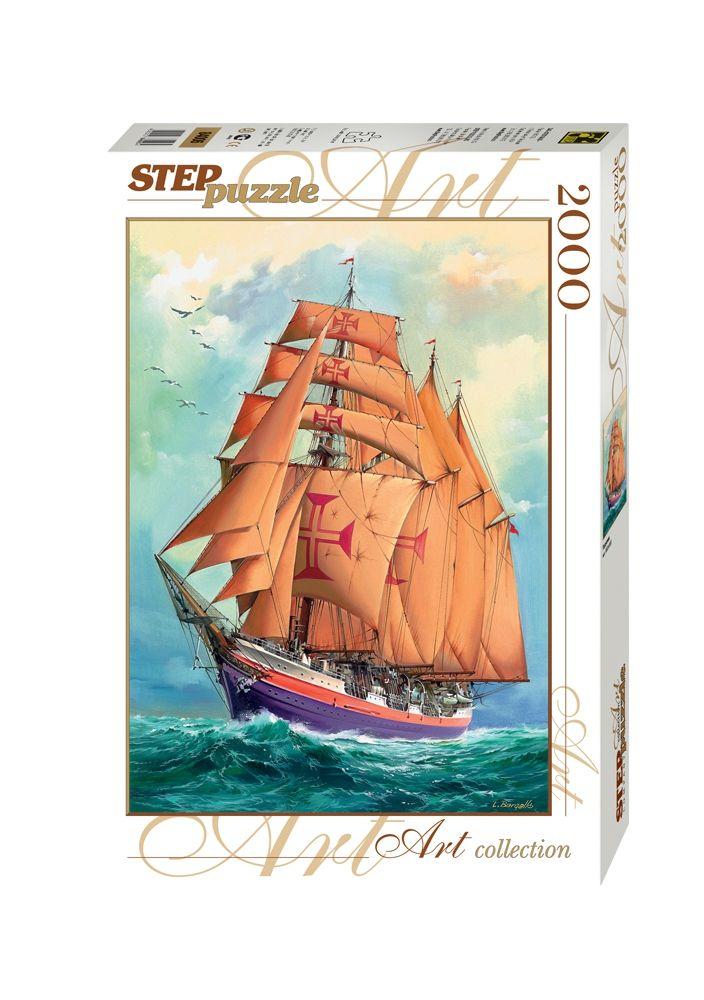 """Купить Step Puzzle Пазл """"Парусник"""" в интернет магазине. Цены, фото, описания, характеристики, отзывы, обзоры"""