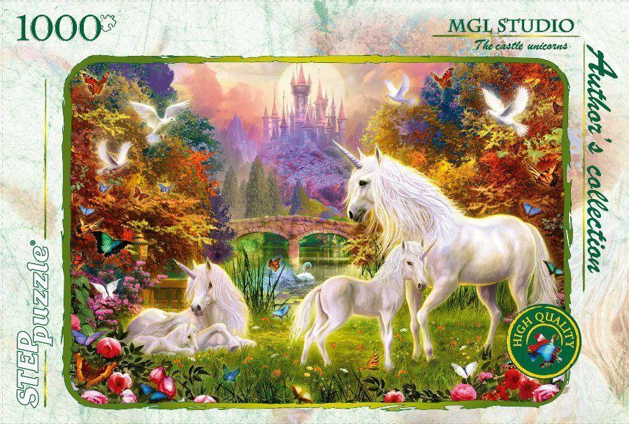 """Купить Step Puzzle Пазл """"MGL Studio.Сказочный замок"""", Авторская коллекция в интернет магазине. Цены, фото, описания, характеристики, отзывы, обзоры"""