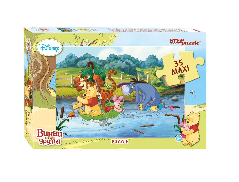 """Купить Step Puzzle Пазл-макси """"Медвежонок Винни"""", Дисней в интернет магазине. Цены, фото, описания, характеристики, отзывы, обзоры"""