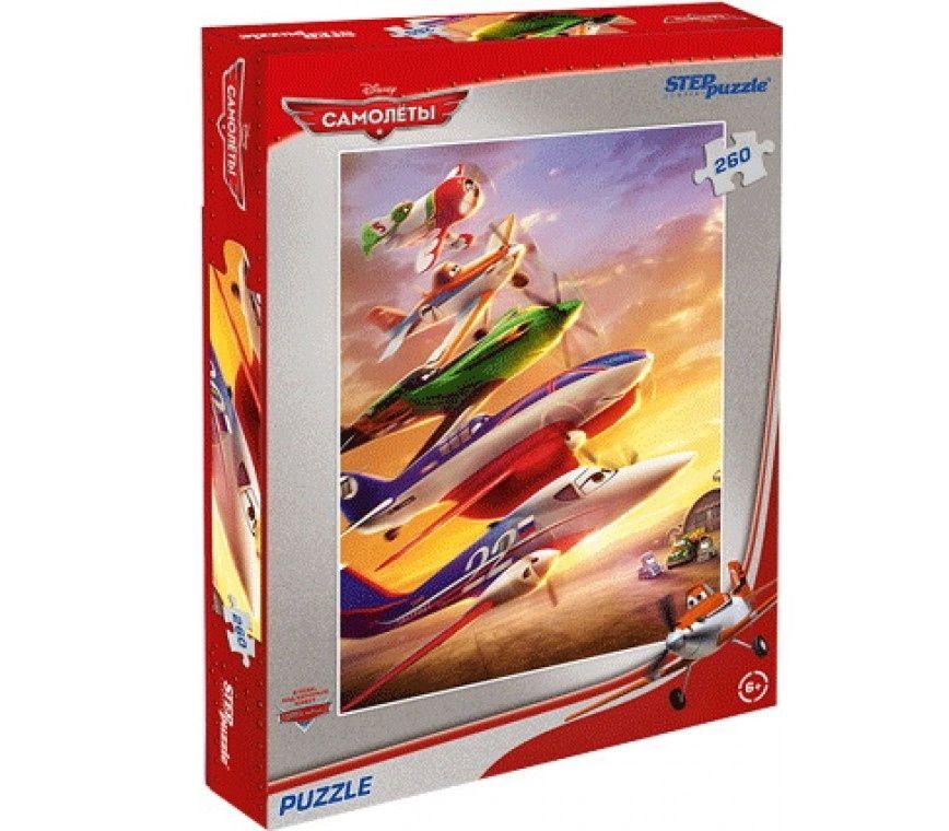 """Купить Step Puzzle Пазл """"Самолеты"""", Дисней в интернет магазине. Цены, фото, описания, характеристики, отзывы, обзоры"""