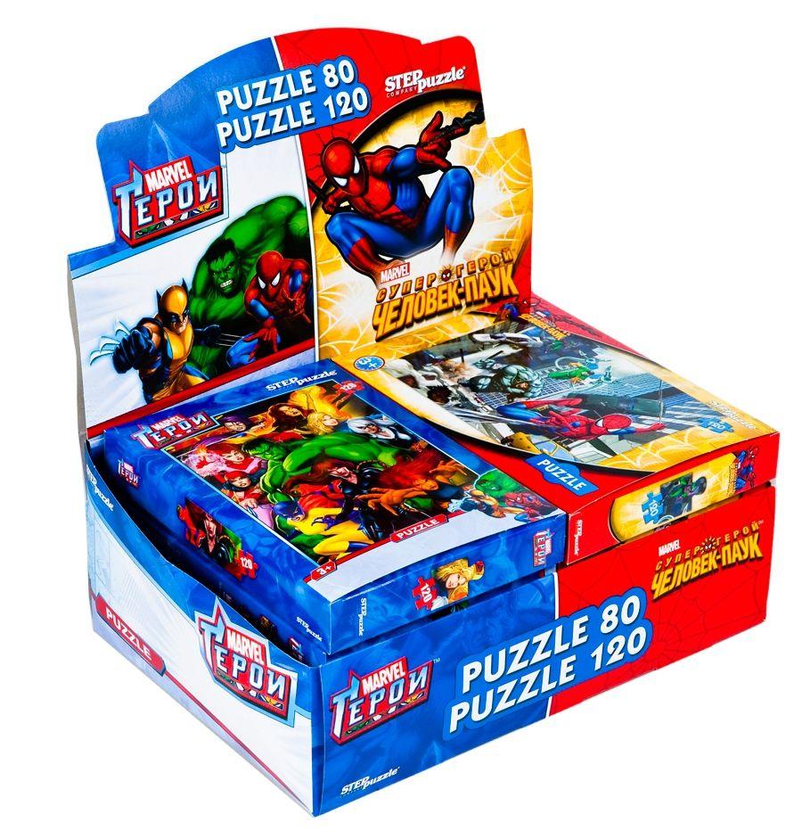 """Купить Step Puzzle Пазл """"Герои"""", Marvel в интернет магазине. Цены, фото, описания, характеристики, отзывы, обзоры"""