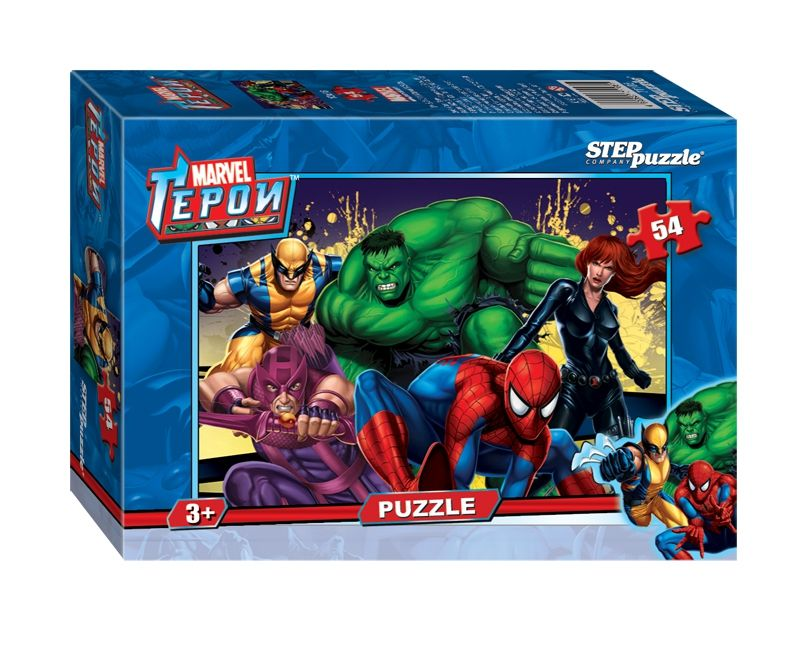"Step Puzzle Пазл ""Герои"", Marvel"