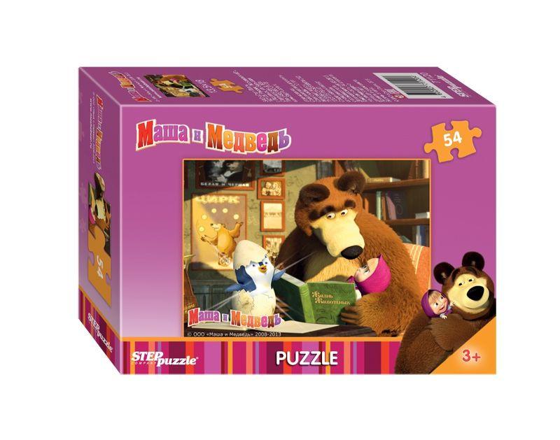 """Купить Step Puzzle Пазл """"Маша и Медведь"""" в интернет магазине. Цены, фото, описания, характеристики, отзывы, обзоры"""