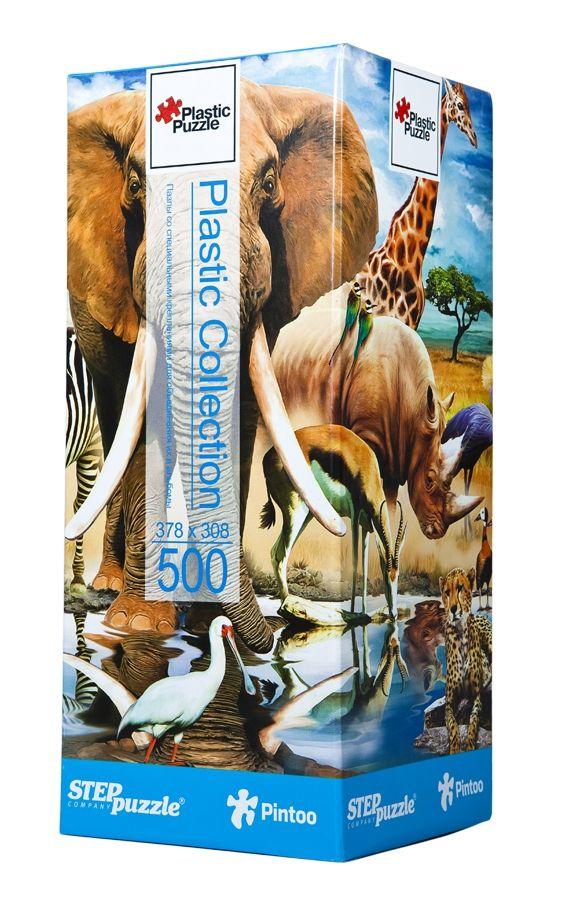 """Купить Step Puzzle Пластиковый пазл """"Мир животных"""" в интернет магазине. Цены, фото, описания, характеристики, отзывы, обзоры"""