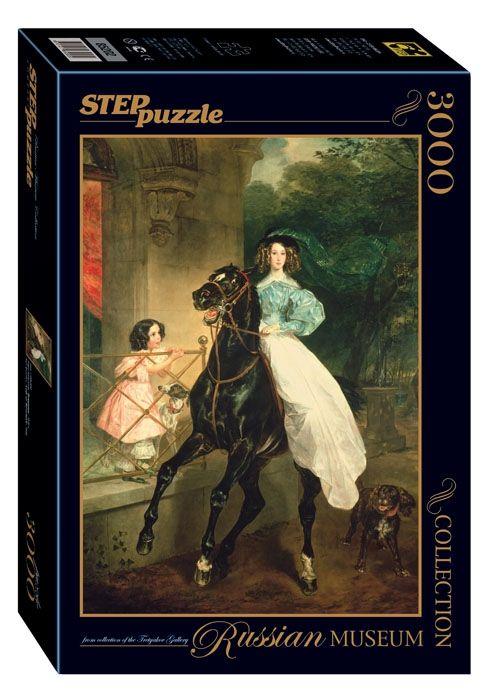 """Купить Step Puzzle Пазл """"Всадница"""", Русские музеи в интернет магазине. Цены, фото, описания, характеристики, отзывы, обзоры"""