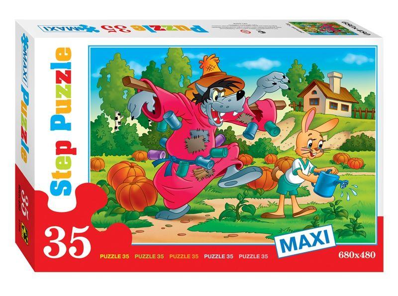 """Купить Step Puzzle Пазл-макси """"Ну, погоди!"""", Союзмультфильм в интернет магазине. Цены, фото, описания, характеристики, отзывы, обзоры"""