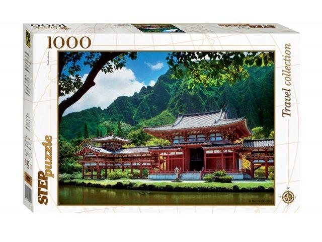 """Купить Step Puzzle Пазл """"Гавайи. Остров Оаху. Японская пагода"""" в интернет магазине. Цены, фото, описания, характеристики, отзывы, обзоры"""