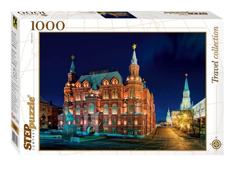 """Купить Step Puzzle Пазл """"Москва. Исторический музей"""" в интернет магазине. Цены, фото, описания, характеристики, отзывы, обзоры"""