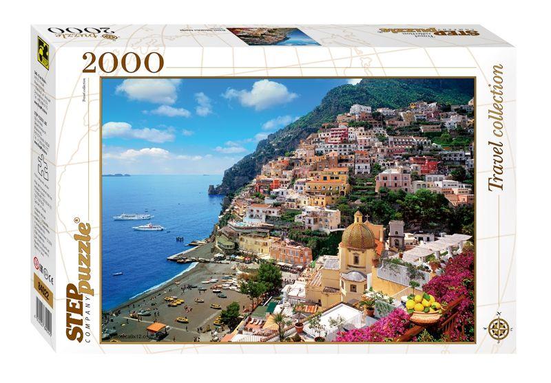"""Купить Step Puzzle Пазл """"Италия. Побережье Амальфи"""" в интернет магазине. Цены, фото, описания, характеристики, отзывы, обзоры"""