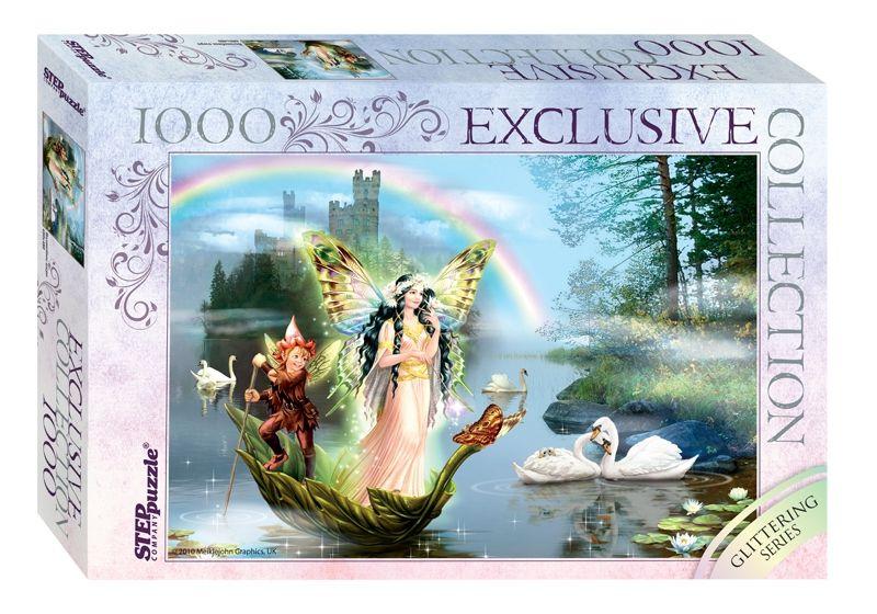 """Купить Step Puzzle Пазл """"Волшебное озеро"""", Glitter в интернет магазине. Цены, фото, описания, характеристики, отзывы, обзоры"""