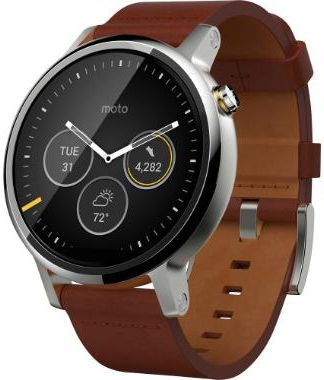 Motorola Moto 360 2nd Gen 46mm Leather