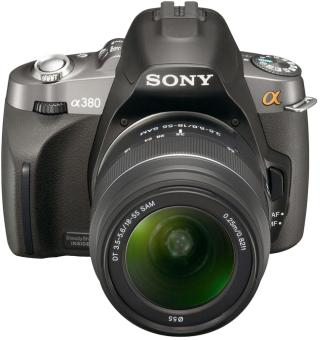 Sony DSLR-A380Y Kit 18-55 + 55-200