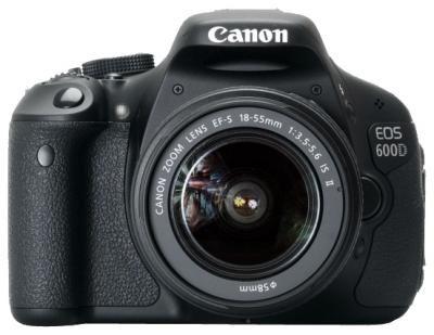 Купить зеркальный фотоаппарт Canon EOS 600D Kit 18-55mm IS II в интернет магазине. Цены, фото, описания, характеристики, отзывы, обзоры