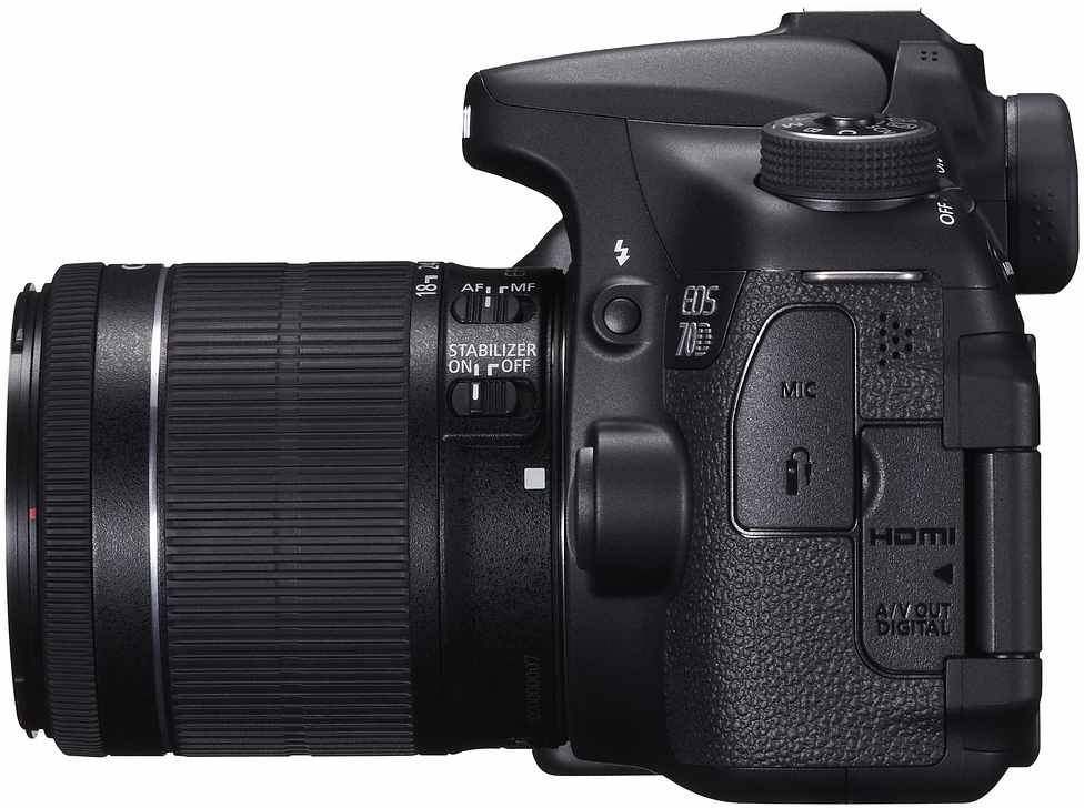 Canon EOS 70D Kit 18-55mm IS STM