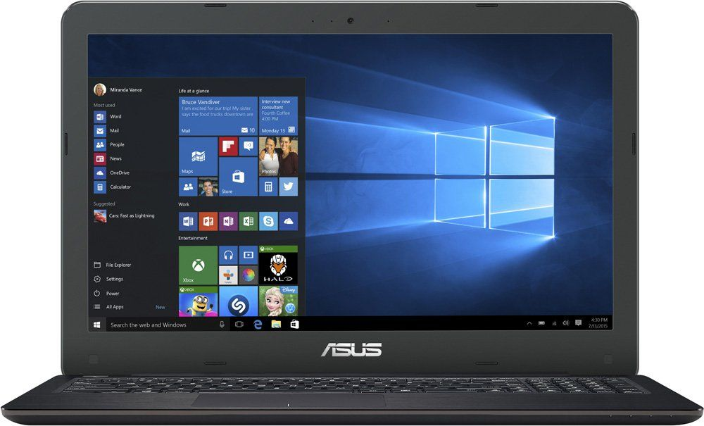 "ASUS X556UQ-XO256T (Intel Core i7-6500U/15.6""/8Gb/1Tb/DVD Super Multi/NV GT940M 2GB/Wi-Fi/Win10) 90NB0BH1-M02910"