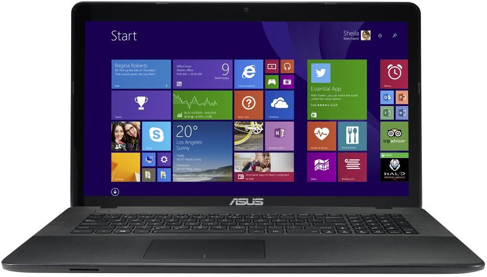 "ASUS X751LJ-TY234T (17.3"" / 1600x900 / Intel Core  i3 5010U / 4Gb / GeForce 920M / 500Gb / DVD-RW / Wi-Fi / BT / Win 10 Home)"