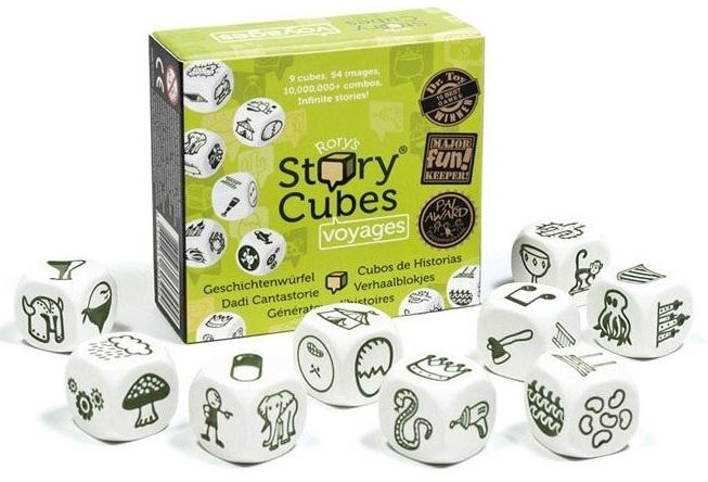 Купить Настольная игра Кубики историй: Путешествия (Voyages), Настольные игры для детей Rory's Story Cube, Прочие игры
