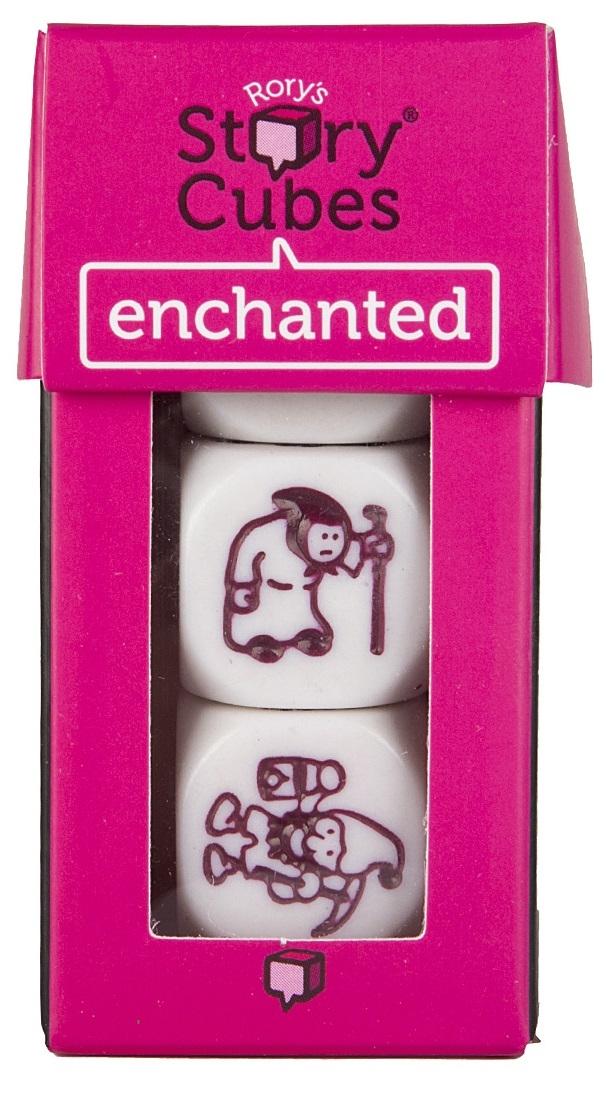Купить Настольная игра Кубики Историй: Сказки (Enchanted), Настольные игры для детей Rory's Story Cube, Прочие игры