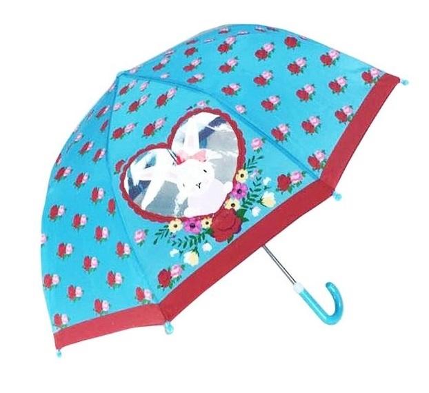 Купить Детский зонт Lady Mary. Rose Bunny , с окошком, Товары для защиты и безопасности малыша Mary Poppins, Аксессуары