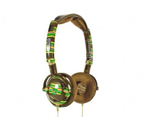 Skullcandy Lowrider Brown Stripe