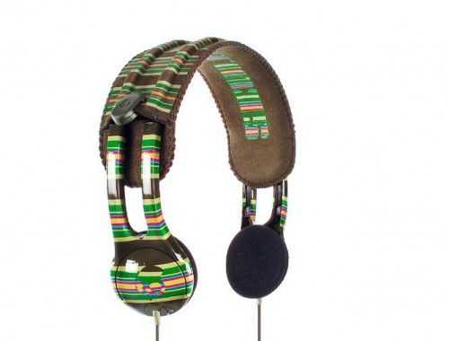Skullcandy Icon Brown Stripe