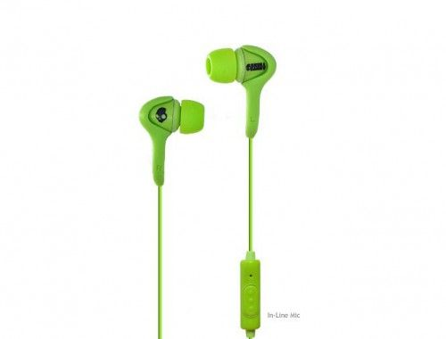 Skullcandy Smokin Buds Audiophile Green