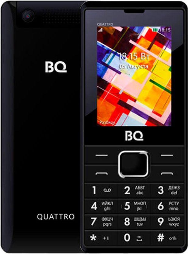Купить мобильный телефон BQ BQ-2412 Quattro в интернет магазине. Цены, фото, описания, характеристики, отзывы, обзоры