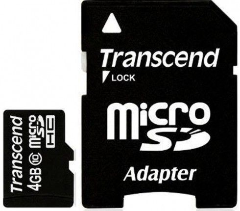 Купить Transcend microSDHC 4Gb class 10 в интернет магазине. Цены, фото, описания, характеристики, отзывы, обзоры