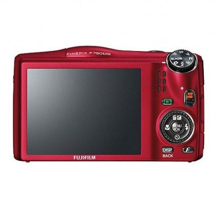 Fujifilm FinePix F750EXR red