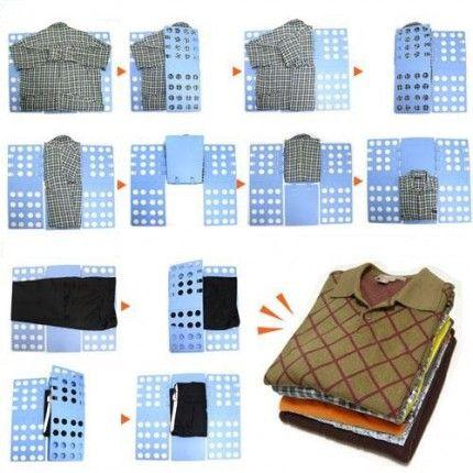 Купить Складыватель одежды Flip It-Fold It в интернет магазине. Цены, фото, описания, характеристики, отзывы, обзоры