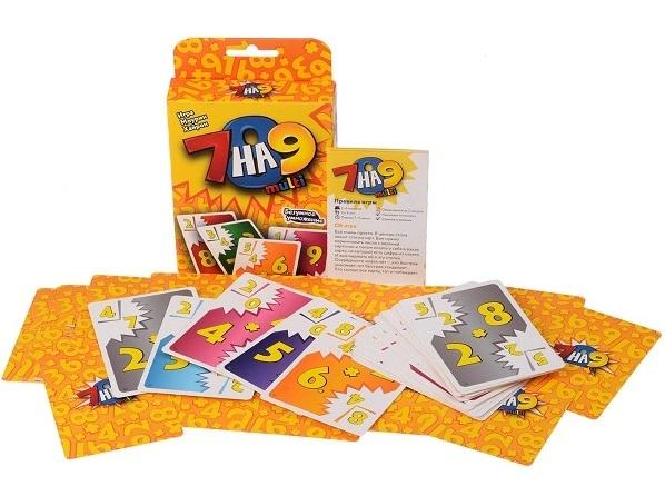 Купить Настольная игра 7 на 9 multi , Настольные игры для детей Magellan, Карточные игры