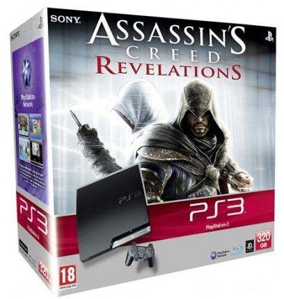 Купить игровая приставка Sony Playstation 3 Slim 320gb + игра Assassin's Creed Revelations в интернет магазине. Цены, фото, описания, характеристики, отзывы, обзоры