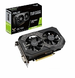 ASUS TUF GeForce GTX 1660 SUPER Gaming OC 1815MHz PCI-E 3.0 6144MB 14002MHz 192 bit DVI HDMI DisplayPort HDCP TUF-GTX1660S-O6G-GAMING
