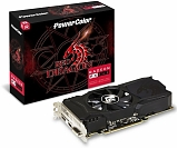 PowerColor Radeon RX 560 1180Mhz PCI-E 3.0 2048Mb 7000Mhz 128 bit DVI HDMI HDCP Red Dragon OC AXRX 560 2GBD5-DHA