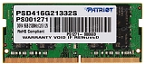 Patriot 16GB PC17000 DDR4 2133MHz SO-DIMM PSD416G21332S