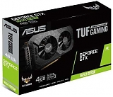 ASUS TUF GeForce GTX 1650 SUPER Gaming OC 1530MHz PCI-E 3.0 4096MB 12002MHz 128 bit DVI HDMI DisplayPort HDCP TUF-GTX1650S-O4G-GAMING