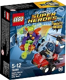 "Lego Конструктор Super Heroes ""Mighty Micros: Бэтмен против Мотылька-убийцы"" 83 детали"