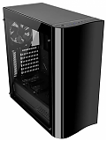 Thermaltake View 22 Tempered Glass CA-1J3-00M1WN-00 Black