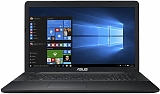 "ASUS X751SJ-TY017T (Intel Pentium N3700/17.3""/4Gb/500Gb/DVD Super Multi/NV920 1GB/Wi-Fi/Win10) 90NB07S1-M00860"