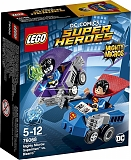 "Lego Конструктор Super Heroes ""Mighty Micros: Супермен против Бизарро"" 93 детали"