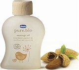 "Chicco Массажное масло ""Pure Bio"", 100 мл"